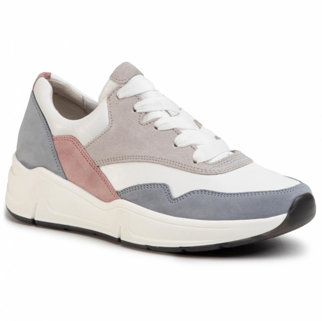 Sneakersy GABOR - 46.305.64 Weiss/Aquam/Rosato