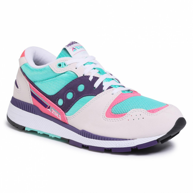 Sneakersy SAUCONY - Azura S70437-35 Wht/Teal/Ind