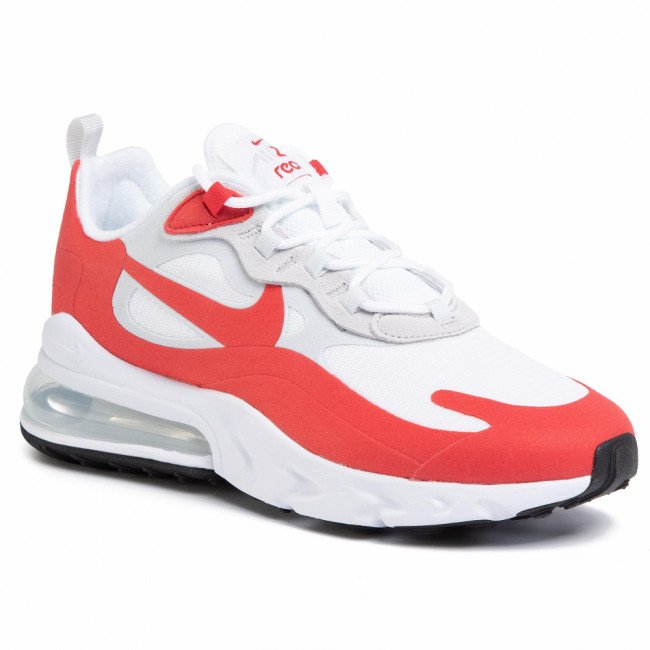 Topánky NIKE - Air Max 270 React CW2625 100 White/University Red