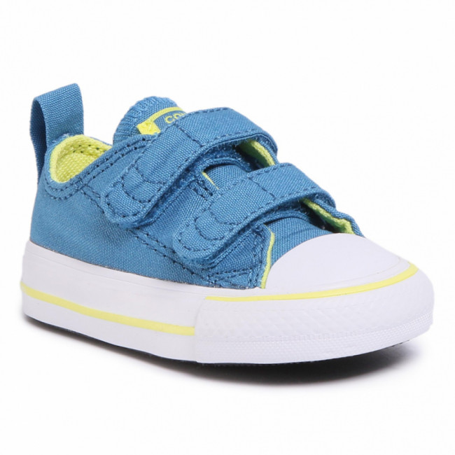 Tramky CONVERSE - Ctas 2V Ox 767793C Egyptian Blue/Zinc Yellow