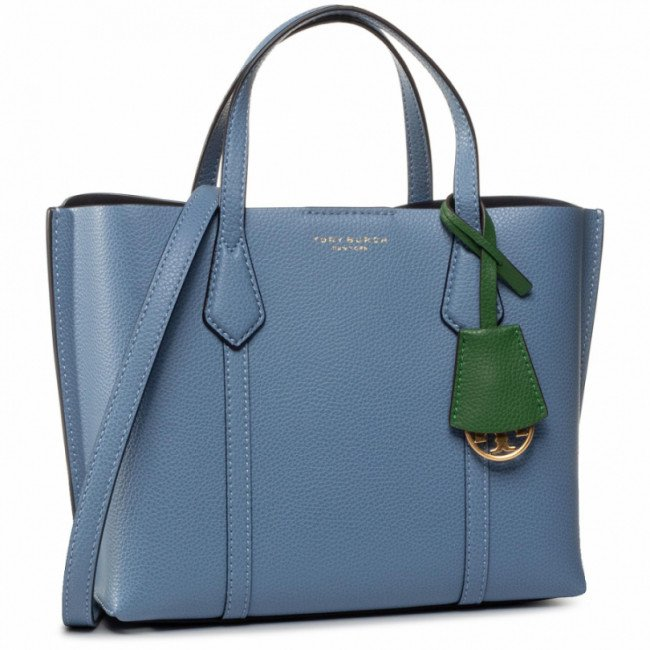 Kabelka TORY BURCH - Perry Small Triple-Compartment Tote 56249 Bluewood 457