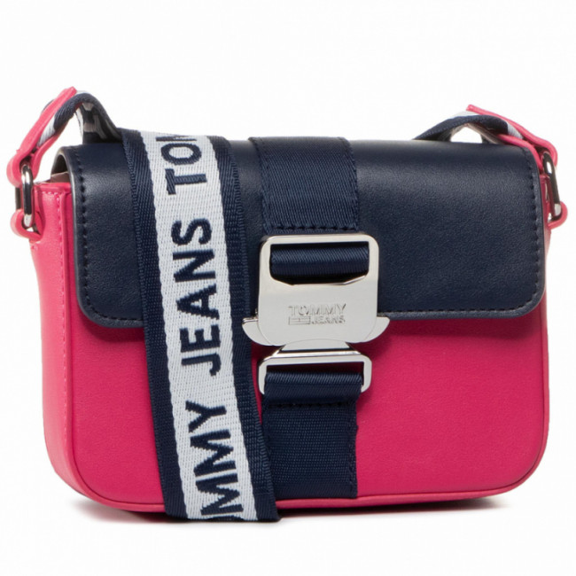 Kabelka TOMMY JEANS - Tjw Femme Item Sm Crossover Met AW0AW08407 PUR