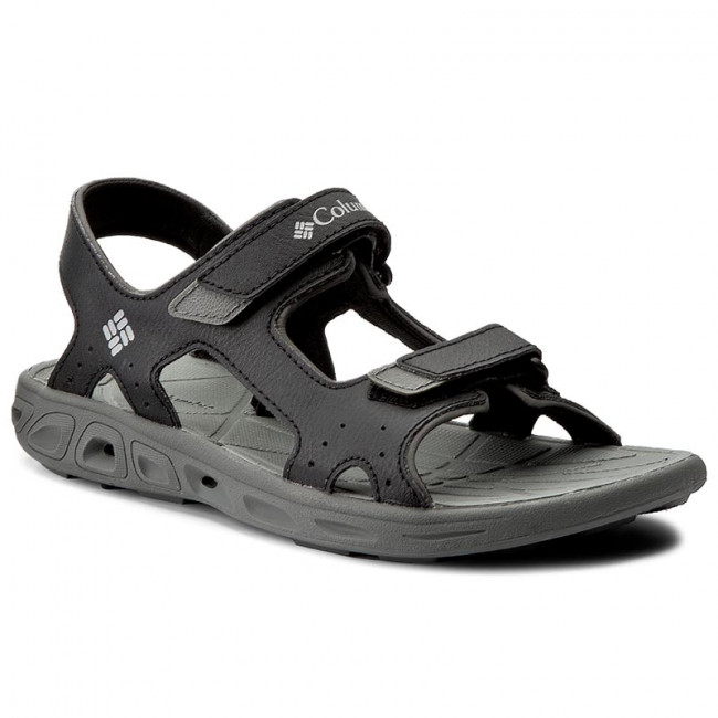 Sandále COLUMBIA - Youth Techsun Vent BY4566 Black/Columbia Grey 010