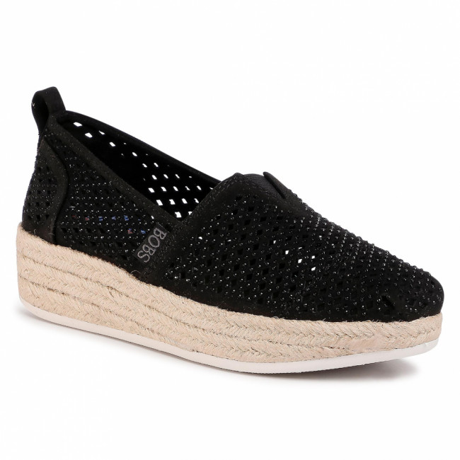 Espadrilky SKECHERS - BOBS Highlights 2.0 113076/BBK Black