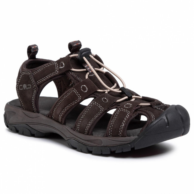 Sandále CMP - Sahiph Leather Hiking Sandal 30Q9507  Espresso Q946