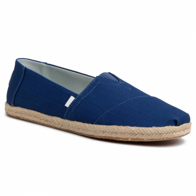 Espadrilky TOMS - Classic 10014980 Plant Dyed Indigo Canvas/Rope