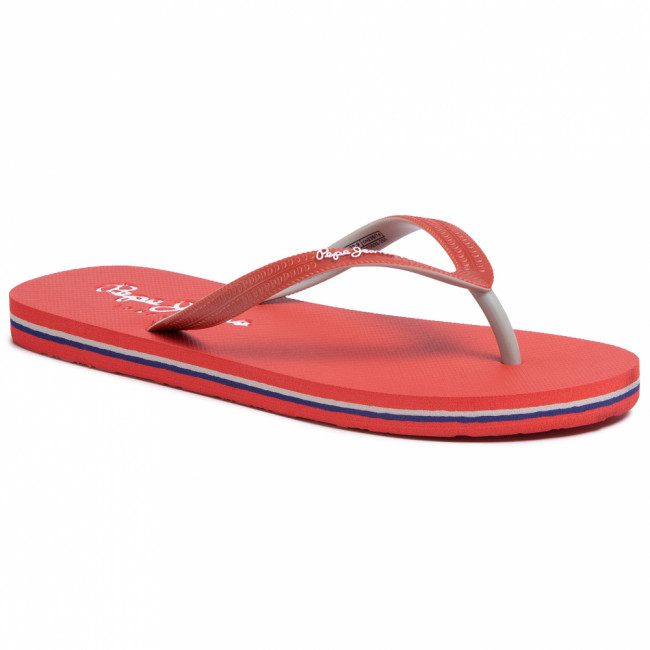 Žabky PEPE JEANS - Beach Basic PBS70032 Red 255