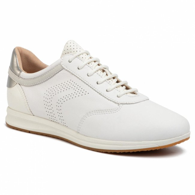 Sneakersy GEOX - D Avery C D02H5C 08554 C1000 White