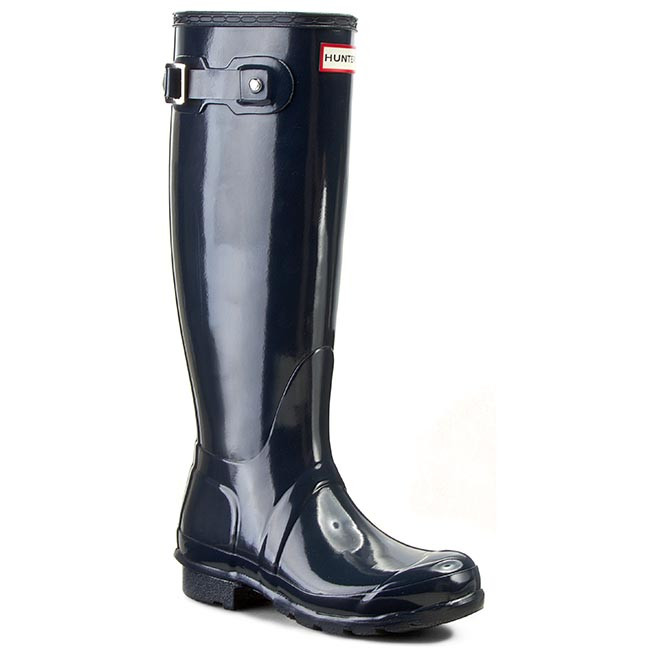 Gumáky HUNTER - Original Tall Gloss WFT1000RGL Navy
