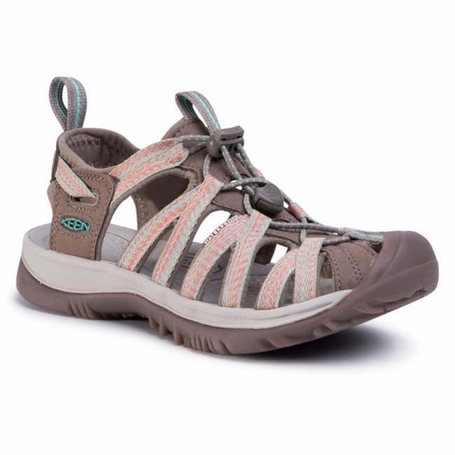 Sandále KEEN - Whisper 1022810 Taupe/Coral