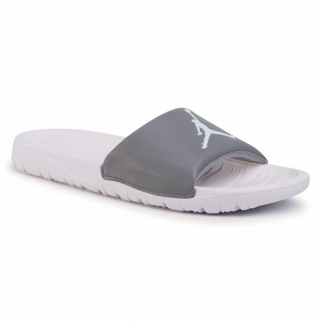 Šľapky NIKE - Jordan Break Slide AR6374 012 Cool Grey/White