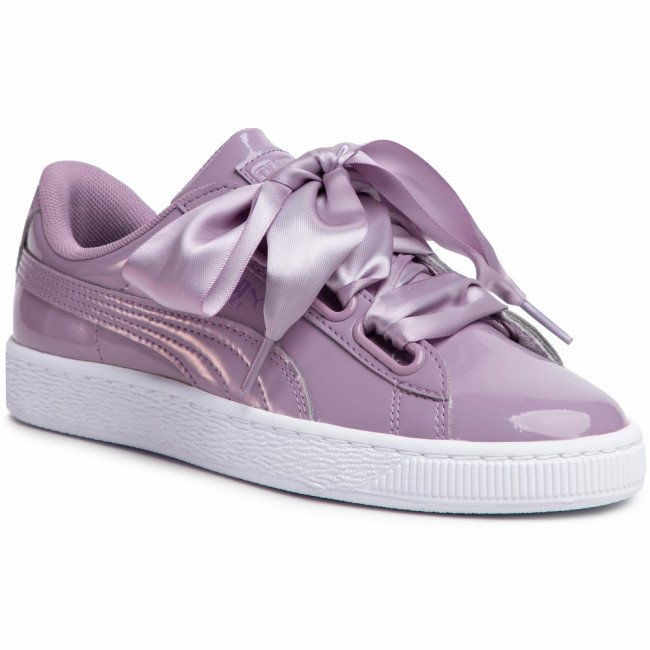Sneakersy PUMA - Basket Heart Patent 363073 21 Elderberry/Elderberry