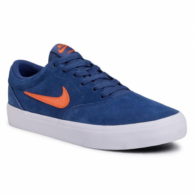 Topánky NIKE - Sb Charge Suede CT3463 402 Mystic Navy/Sarfish