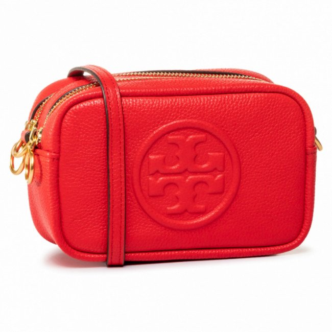 Kabelka TORY BURCH - Perry Bombe 64398 Brilliant Red 612