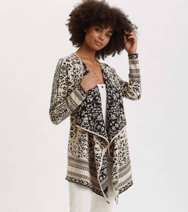 Sveter Odd Molly Expressive Long Cardigan