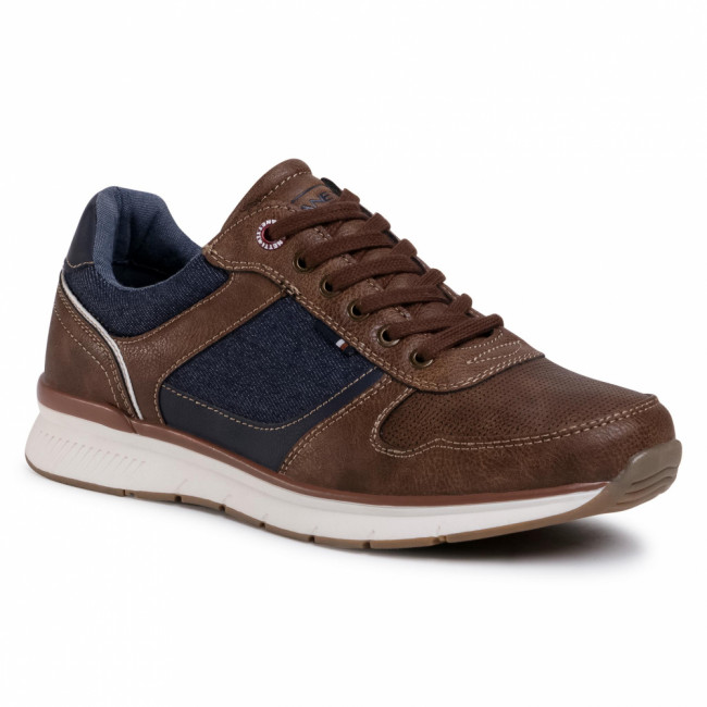 Sneakersy LANETTI - MP07-91278-03 Brown