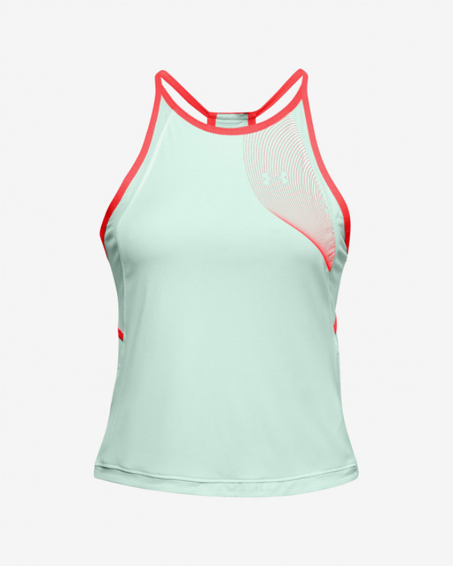Under Armour Qualifier Iso-Chill Tielka Zelená