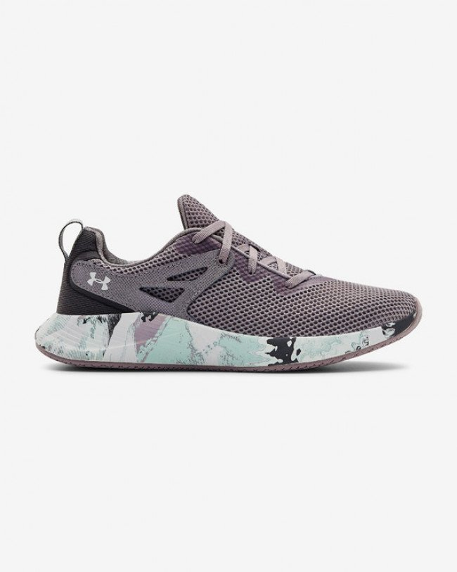 Under Armour Charged Breathe Trainer 2 Marble Tenisky Šedá