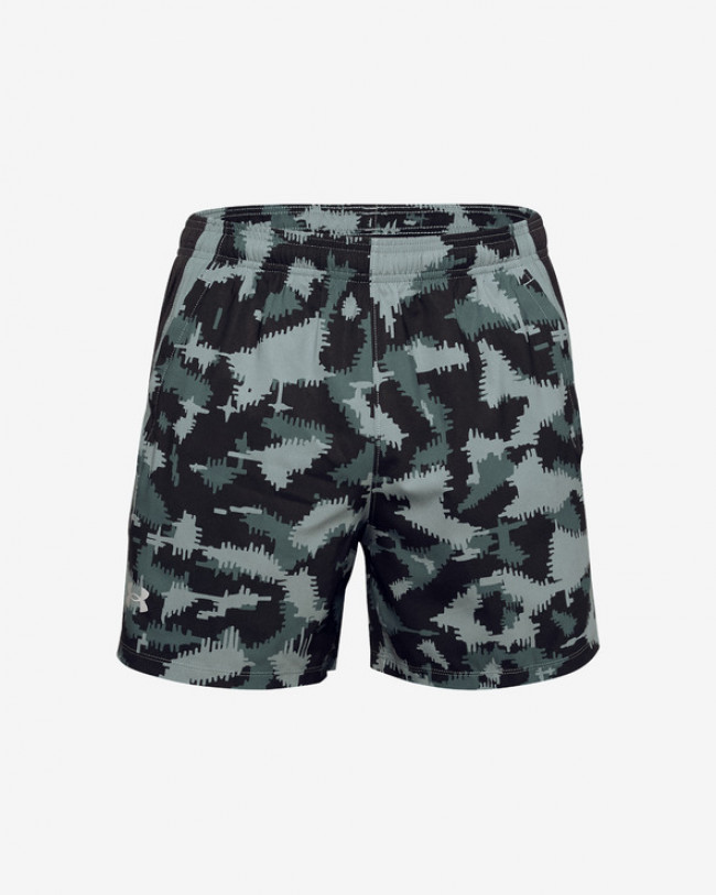 Under Armour Launch SW 5'' Camo Kraťasy Čierna