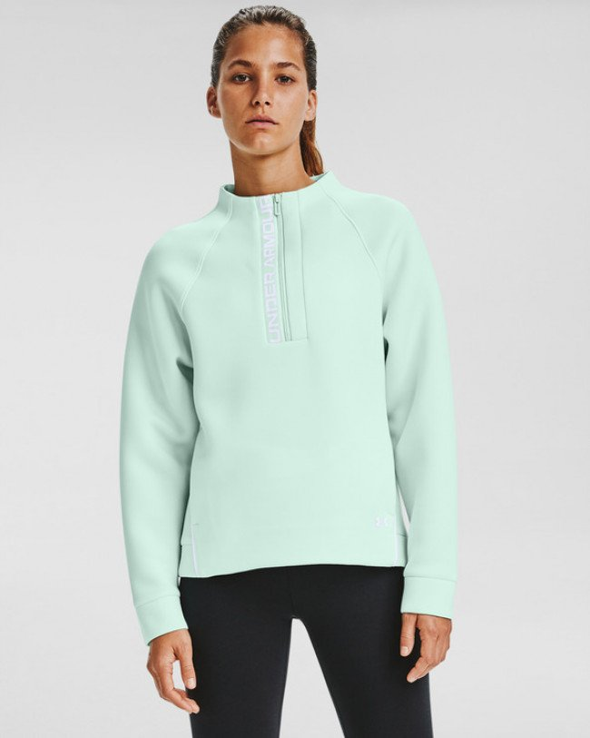 Under Armour Move Half Zip Mikina Zelená