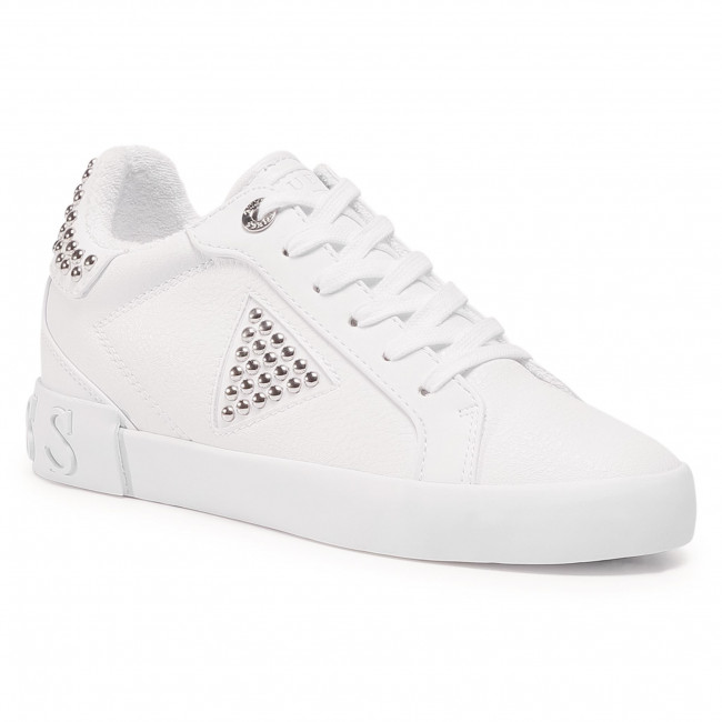 Sneakersy GUESS - Paysin FL7PAN ELE12 WHITE