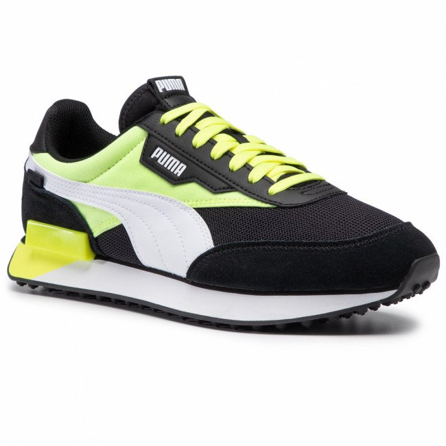 Sneakersy PUMA - Future Rider Neon Play 373383 01 Puma Black/Fizzy Yellow