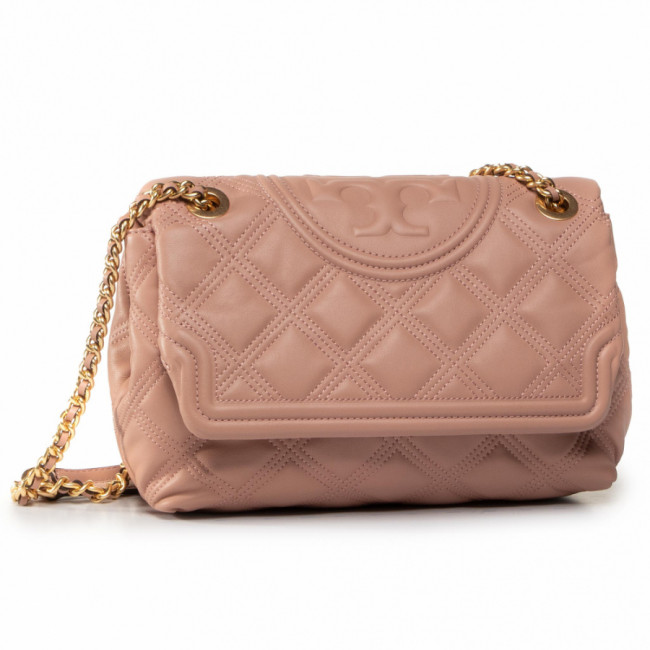 Kabelka TORY BURCH - Fleming Soft Convertible Shoulder Bag 56716 Pink Moon 689