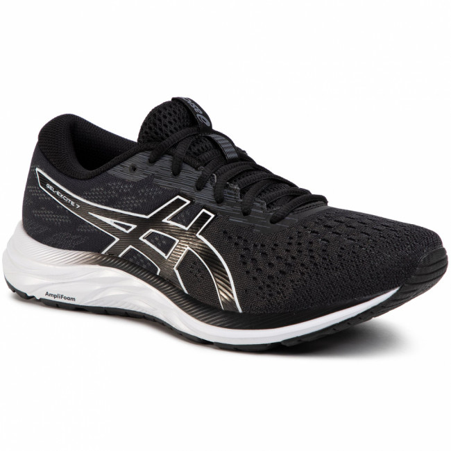 Topánky ASICS - Gel-Excite 7 1011A657 Black/White 001