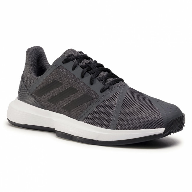 Topánky adidas - CourtJam Bounce M Clay FV2764 Gresix/Cblack/Ftwwht