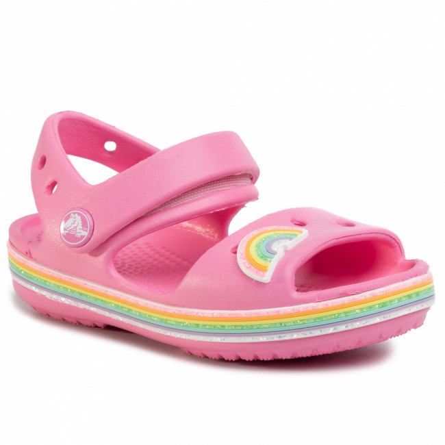 Sandále CROCS - Crocband Imagination Sandal Ps 206145  Pink Lemonade