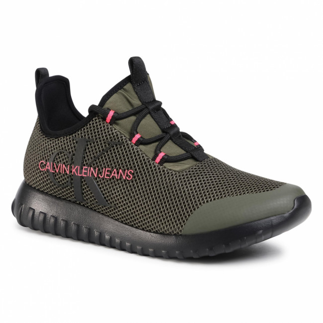 Sneakersy CALVIN KLEIN JEANS - Reiland B4S0707  Olive Night