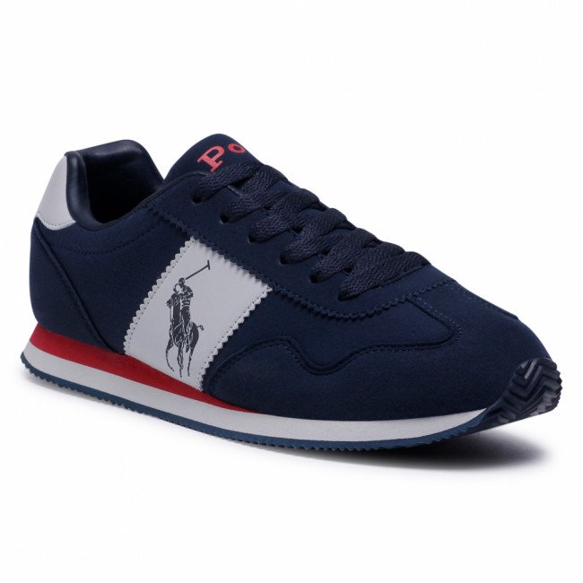 Sneakersy POLO RALPH LAUREN - Big Pony Jogger RF102691  Navy/Gry/Red