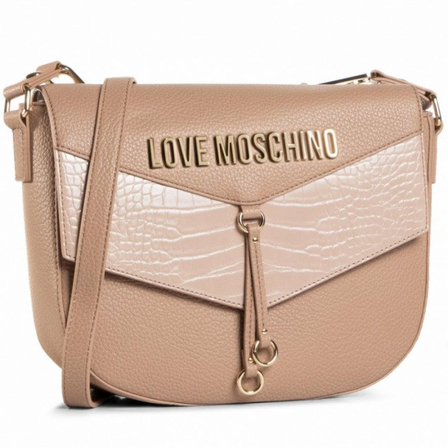 Kabelka LOVE MOSCHINO - JC4287PP0BKP120A  Taupe