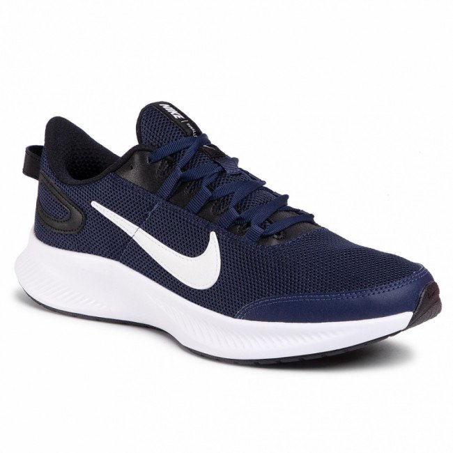 Topánky NIKE - Runallday 2 CD0223 400 Midnight Navy/White/Black
