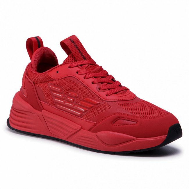 Sneakersy EMPORIO ARMANI - X4X325 XM521 A875 R.Red/R.Red/R.Red