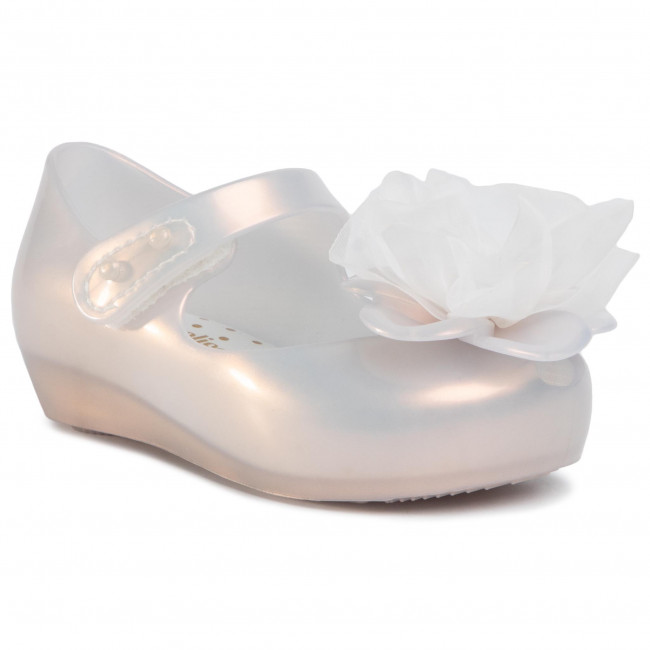 Poltopánky MELISSA - Mini Melissa Ultragirl Chic BB 32871 Pearly White 53671