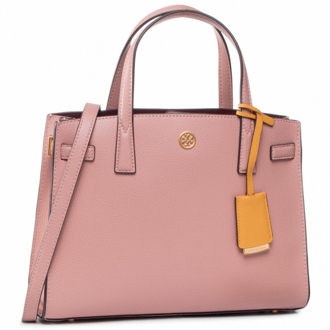 Kabelka TORY BURCH - Walker Small Satchel 73625 Pink Moon 689
