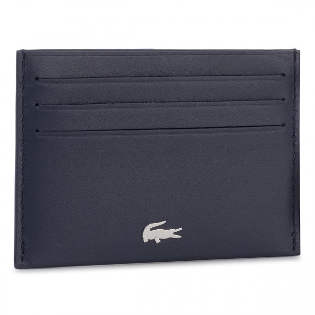 Púzdro na kreditné karty LACOSTE - Credit Card Holder NH1346FG Peacoat 021