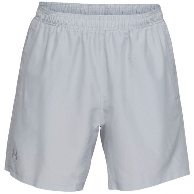Kraťasy UA SPEED STRIDE 7'' WOVEN SHORT-GRY