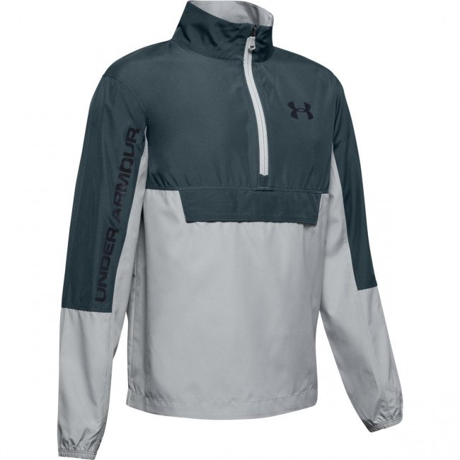 Mikina Under Armour Woven Anorak-Gry