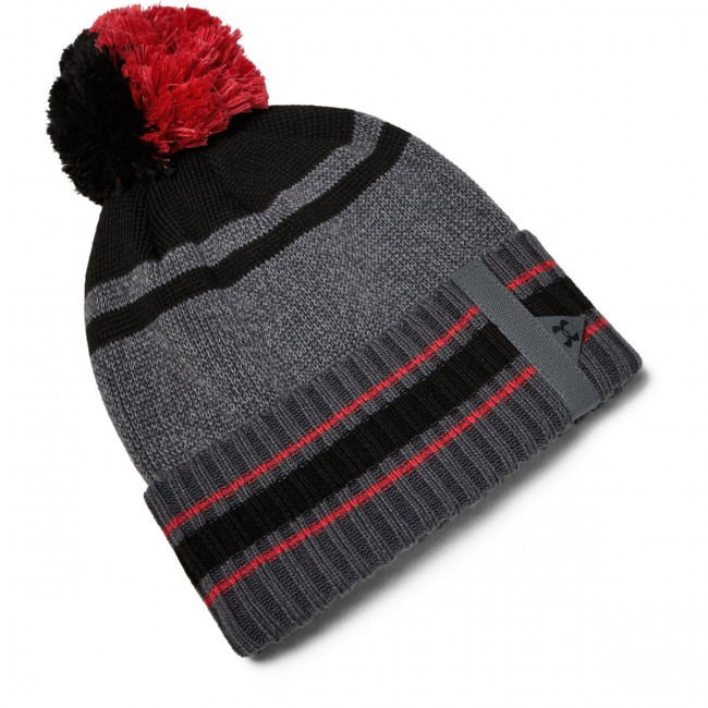 Čiapka Under Armour Men\'S Pom Beanie -Gry