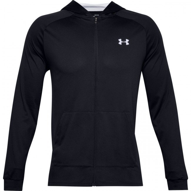 Mikina Under Armour UA TECH 2.0 FZ HOODIE-BLK