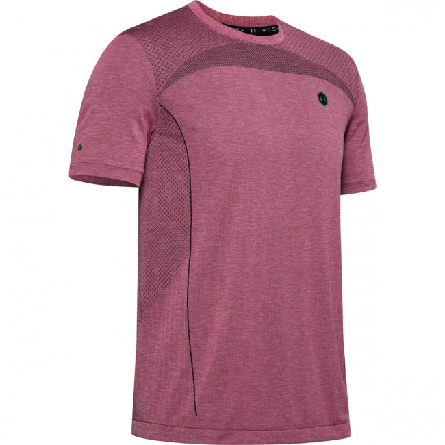 Tričko Under Armour Rush Seamless Fitted SS-PNK