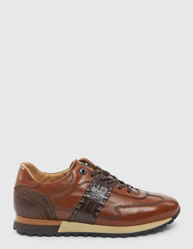 Tenisky La Martina Man Shoes Canyon Calf Leather