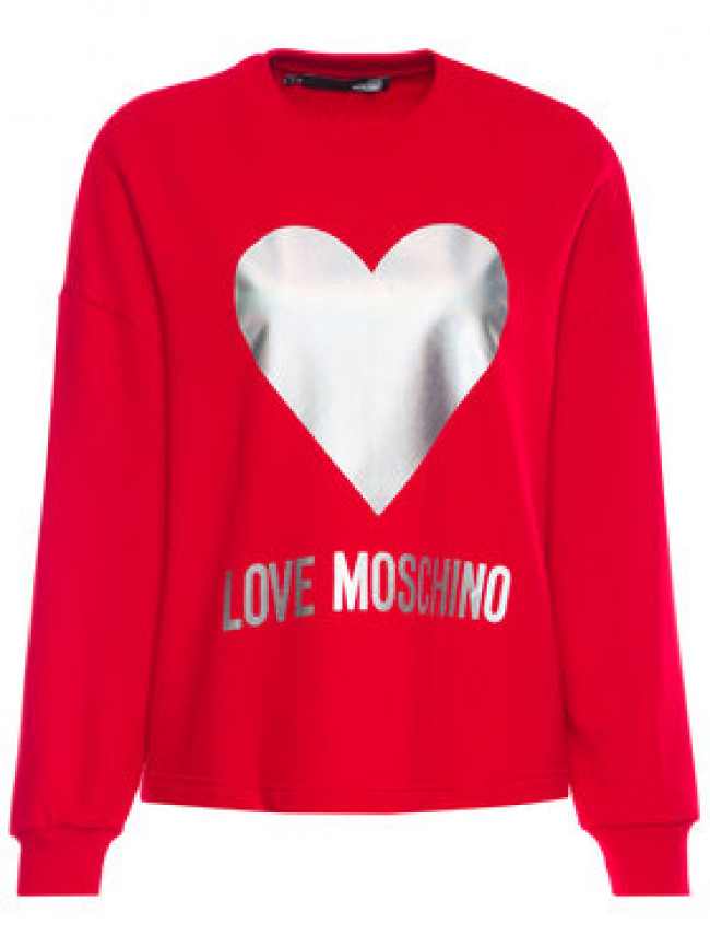 LOVE MOSCHINO Mikina W635504M 4068 Loose Fit