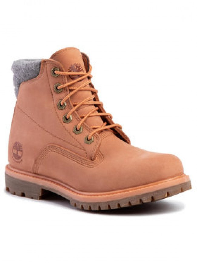 Timberland Outdoorová obuv Waterville 6 In Waterproof Boot TB0A26G3X891 Oranžová
