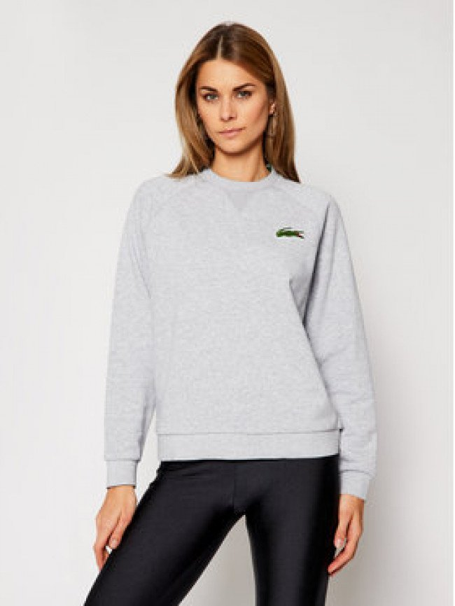 Lacoste Mikina SF2400 Sivá Classic Fit