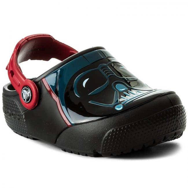 Šľapky CROCS - Funlab Lights Darth Vader 204137 Black
