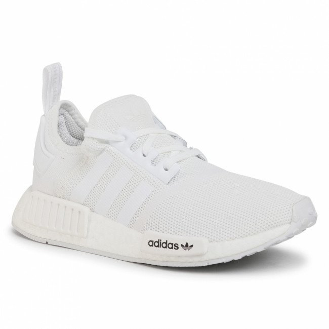 Topánky adidas - Nmd-R1 J FW0432 Cloud White/Cloud White/Crystal White