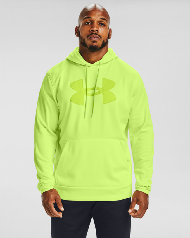 Under Armour Armour Fleece® Big Logo Mikina Žltá